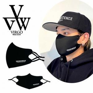 送料無料 VIRGO ヴァルゴ マスク 黒マスク 1枚 ファッションマスク 2枚張り ポリウレタン 繰り返し 洗える NEW EFFECTS MASK bless-web