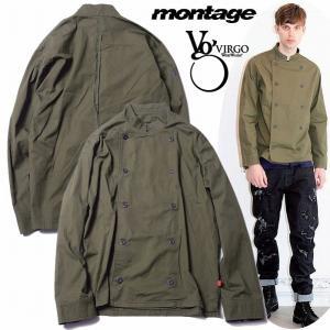25%OFF VIRGO ヴァルゴ montage モンタージュ シャツ ジャケット CLASSIC W-BUTTON SHIRTS 別注カラー|bless-web