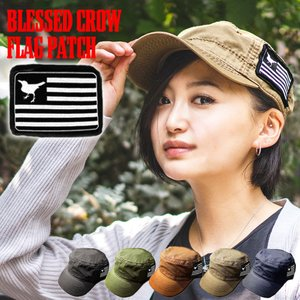 BlessedCrow Flag パッチ ワークキャップ メンズ ワッペン付き キャップ ブランド blessedcrow
