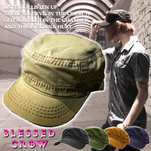 BlessedCrow ワークキャップ メンズ 帽子 ブランド キャップ  無地|blessedcrow