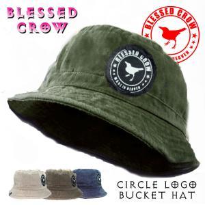 BlessedCrow CircleLogo バケットハット 帽子 メンズ ブランド オールシーズン タウンユース blessedcrow