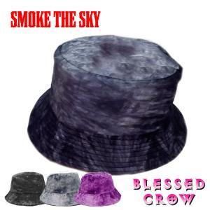 SmokeTheSky バケットハット メンズ 帽子 夏 秋 サファリハット|blessedcrow