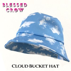 Cloud バケットハット レディース 帽子 ハット 日よけ 柄 バケハ 春 夏 オールシーズン blessedcrow