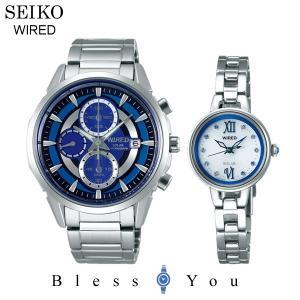 セイコー ソーラー 腕時計 ペアウォッチ ワイアード & ワイアードエフ AGAD060-AGED092 52000|blessyou
