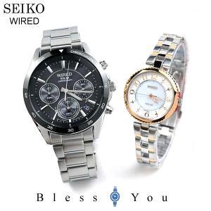 ポイント最大27倍 セイコー ソーラー 腕時計 ペアウォッチ ワイアード AGAD087-AGED087 48,0|blessyou