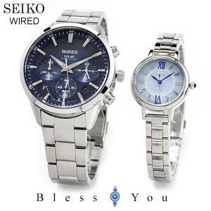 ポイント最大27倍 セイコー ソーラー 腕時計 ペアウォッチ ワイアード AGAD094-AGED098 51,0 10n|blessyou