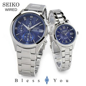 セイコー ソーラー 腕時計 ペアウォッチ ワイアード AGAD096-AGED103 44000 11n|blessyou