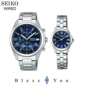ポイント最大27倍 セイコー ワイアード ペアウォッチ ブルー SEIKO AGAT405-AGEK423 32,0|blessyou