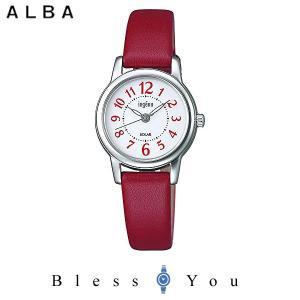ポイント最大27倍 セイコー アルバ ソーラー 腕時計 レディース アンジェーヌ 2019年5月 レザーバンド AHJD404 13,0|blessyou