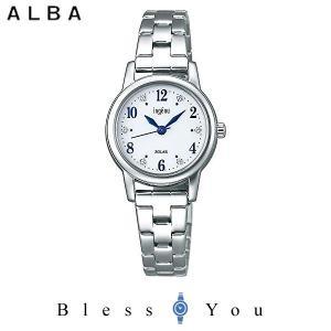 ポイント最大27倍 セイコー アルバ ソーラー 腕時計 レディース アンジェーヌ 2019年5月 AHJD405 14,0|blessyou