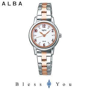 ポイント最大27倍 セイコー アルバ ソーラー 腕時計 レディース アンジェーヌ 2019年5月 AHJD406 16,0|blessyou