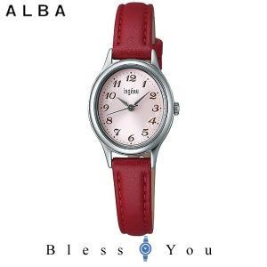 ポイント最大27倍 セイコー ALBA ingenu アルバ 腕時計 レディース アンジェーヌ レザーバンド  AHJK420 7,5|blessyou