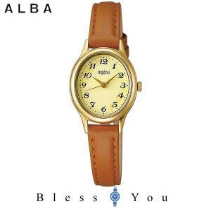 ポイント最大27倍 セイコー ALBA ingenu アルバ 腕時計 レディース アンジェーヌ レザーバンド  AHJK421 7,5|blessyou