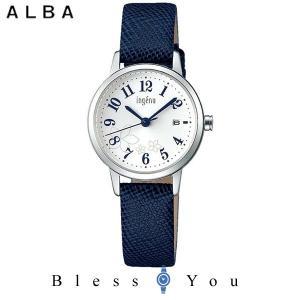 ポイント最大27倍 セイコー ALBA ingenu アルバ 腕時計 レディース アンジェーヌ レザーバンド  AHJK442 8,0|blessyou