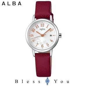 ポイント最大27倍 セイコー ALBA ingenu アルバ 腕時計 レディース アンジェーヌ レザーバンド  AHJK443 8,0|blessyou
