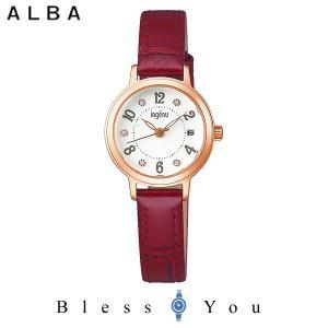 ポイント最大27倍 セイコー ALBA ingenu アルバ 腕時計 レディース アンジェーヌ レザーバンド  AHJK446 9,0|blessyou