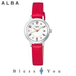 ポイント最大27倍 セイコー ALBA ingenu アルバ 腕時計 レディース アンジェーヌ レザーバンド  AHJK447 9,0|blessyou