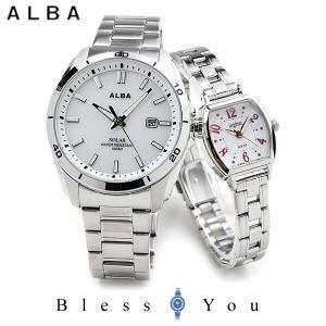セイコー アルバ ソーラー 腕時計 ペアウォッチ アンジェーヌ AQGD402-AHJD106 24.0 201903new|blessyou