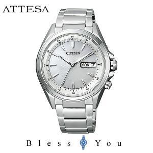 メンズ腕時計 シチズン アテッサ エコドライブ 電波時計 AT6040-58A 新品お取寄せ品|blessyou
