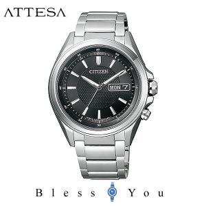 メンズ腕時計 シチズン アテッサ エコドライブ 電波時計 AT6040-58E 新品お取寄せ品|blessyou
