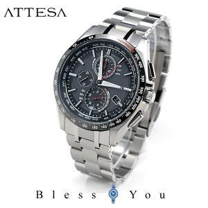 メンズ腕時計 シチズン アテッサ ソーラー電波時計 メンズ 腕時計 AT8144-51E 110000|blessyou