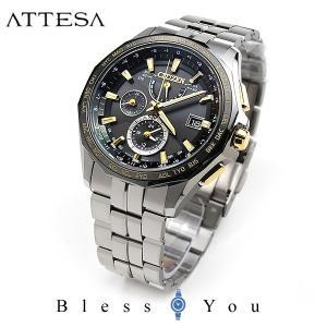 メンズ腕時計 シチズン アテッサ ソーラー 電波時計 メンズ 腕時計 AT9095-50E 145000|blessyou
