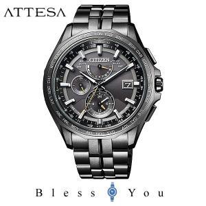 メンズ腕時計 シチズン 電波ソーラー メンズ 腕時計 アテッサ AT9097-54E 160000|blessyou
