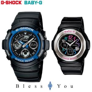 Gショック ペアウォッチ 腕時計 ペア ブランド ウォッチ カップル AW-591-2AJF-BGA-101-1BJF 27,0|blessyou