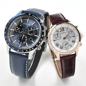 ペアウォッチ シチズンコレクション xC エコドライブ クロノグラフ 腕時計 ペア BL5490-09M-FB1405-07A 83,0|blessyou