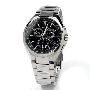 メンズ腕時計 シチズン ソーラー電波 腕時計 メンズ アテッサ 2019年3月 CB5040-80E 80000|blessyou