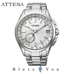メンズ腕時計 シチズン アテッサ エコドライブ 電波時計 メンズ 腕時計 CC3010-51A 170000|blessyou