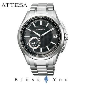 メンズ腕時計 シチズン アテッサ ソーラー電波時計 メンズ 腕時計 CC3010-51E 170000|blessyou