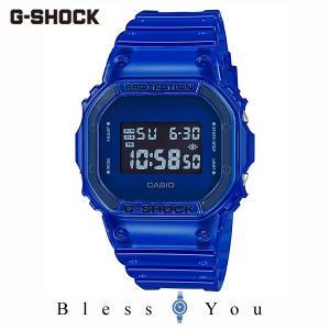 カシオ 腕時計 メンズ Gショック 2019年10月新作 カラースケルトン DW-5600SB-2JF 12,0|blessyou