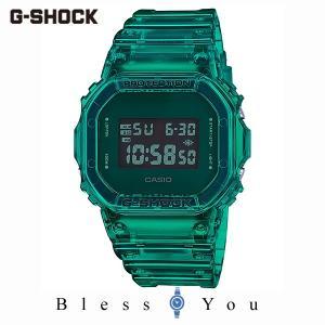 カシオ 腕時計 メンズ Gショック 2019年10月新作 カラースケルトン DW-5600SB-3JF 12,0 blessyou