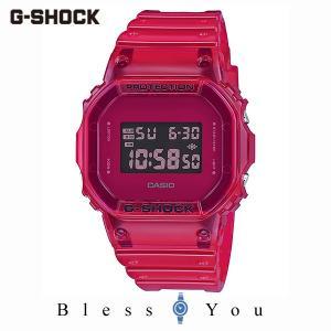 カシオ 腕時計 メンズ Gショック 2019年10月新作 カラースケルトン DW-5600SB-4JF 12,0|blessyou