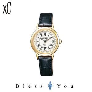 シチズン 電波ソーラー 腕時計 レディース エコドライブ XC EC1142-05B 75,0|blessyou