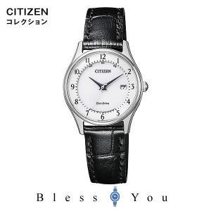 シチズン エコドライブ電波 腕時計 レディース シチズンコレクション ES0000-10A 32,0 blessyou