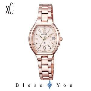 シチズン エコドライブ電波 腕時計 レディース クロスシー ES9365-54W 59,0 blessyou