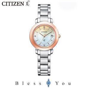 クロスシー hikari 限定モデル ソーラー 電波 女性 腕時計 エコドライブ CITIZEN  xC ES9446-54X 100,0 2020年4月 シチズン モデル|blessyou