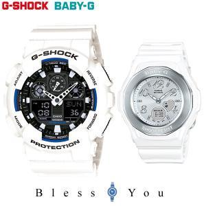Gショック ペアウォッチ ホワイト ベビーG GA-100B-7AJF-BGA-100-7B 28,5|blessyou