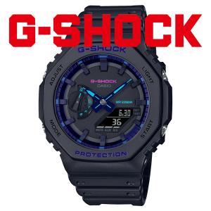 gショック G-SHOCK 腕時計 メンズ 2021年10月 GA-2100VB-1AJF 13,5 blessyou