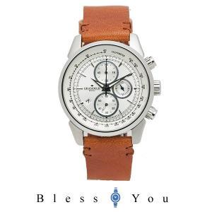 メンズ 腕時計 グランドール プラス クロノグラフ イタリアンレザー タンニンレザー  GRP001W1 blessyou