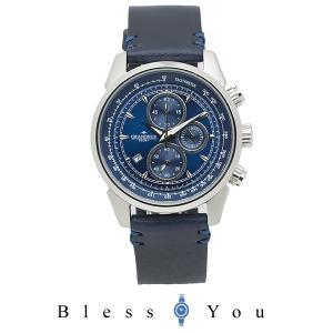 メンズ 腕時計 グランドール プラス クロノグラフ イタリアンレザー タンニンレザー  GRP001W2 blessyou