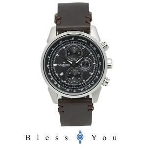 メンズ 腕時計 グランドール プラス クロノグラフ イタリアンレザー タンニンレザー  GRP001W3 blessyou