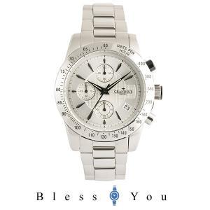 グランドール プラス  腕時計 クロノグラフ GRP003W1 メンズ blessyou
