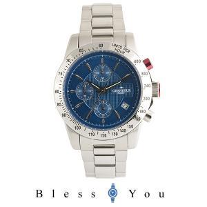 グランドール プラス  腕時計 クロノグラフ GRP003W2 メンズ blessyou
