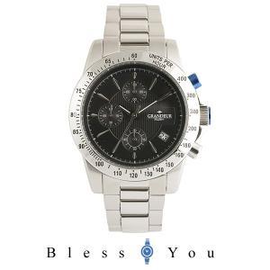 グランドール プラス  腕時計 クロノグラフ GRP003W3 メンズ blessyou