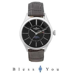 メンズ腕時計 グランドール プラス 腕時計 メンズ 牛本革バンド  GRP011W2 17500