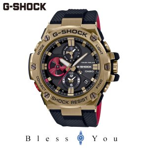 G-SHOCK Gショック ソーラー 腕時計 メンズ CASIO カシオ G-STEEL  GST-B100RH-1AJR 62,0|blessyou