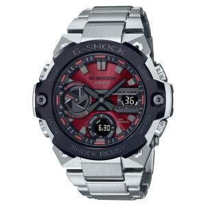 G-SHOCK Gショック ソーラー 腕時計 メンズ CASIO カシオ 2021年5月 G-STEEL GST-B400AD-1A4JF 54,0|blessyou